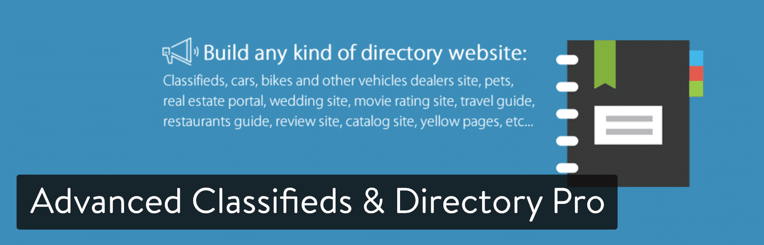 Extension WordPress Advanced Classifieds & Directory Pro