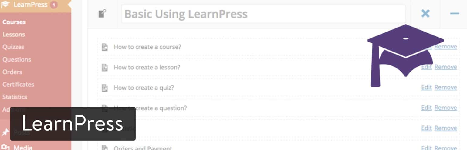 Plugin LearnPress WordPress