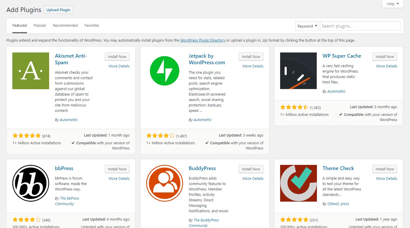 Comment ajouter un nouveau plugin WordPress