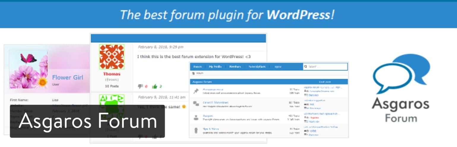 Plugin Asgaros Forum