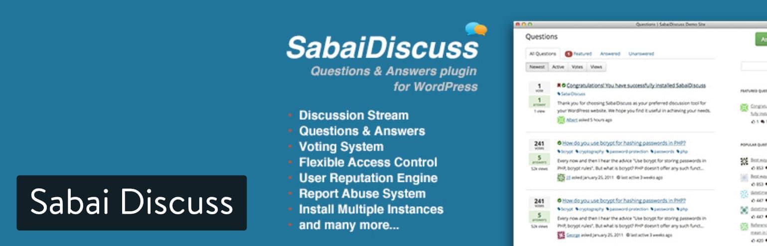 Plugin Sabai Discuss