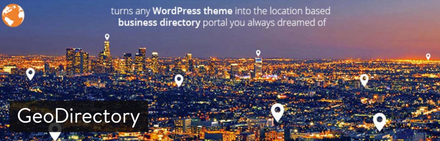 Plugin WordPress GeoDirectory