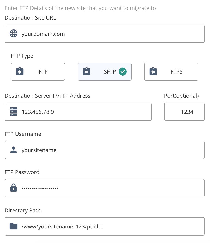 Assurez-vous que tous les détails sont corrects. Les tentatives de connexion échouées répétées peuvent déclencher une interdiction d'IP.