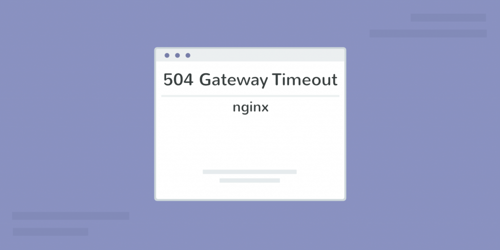 504 gateway time out free replay