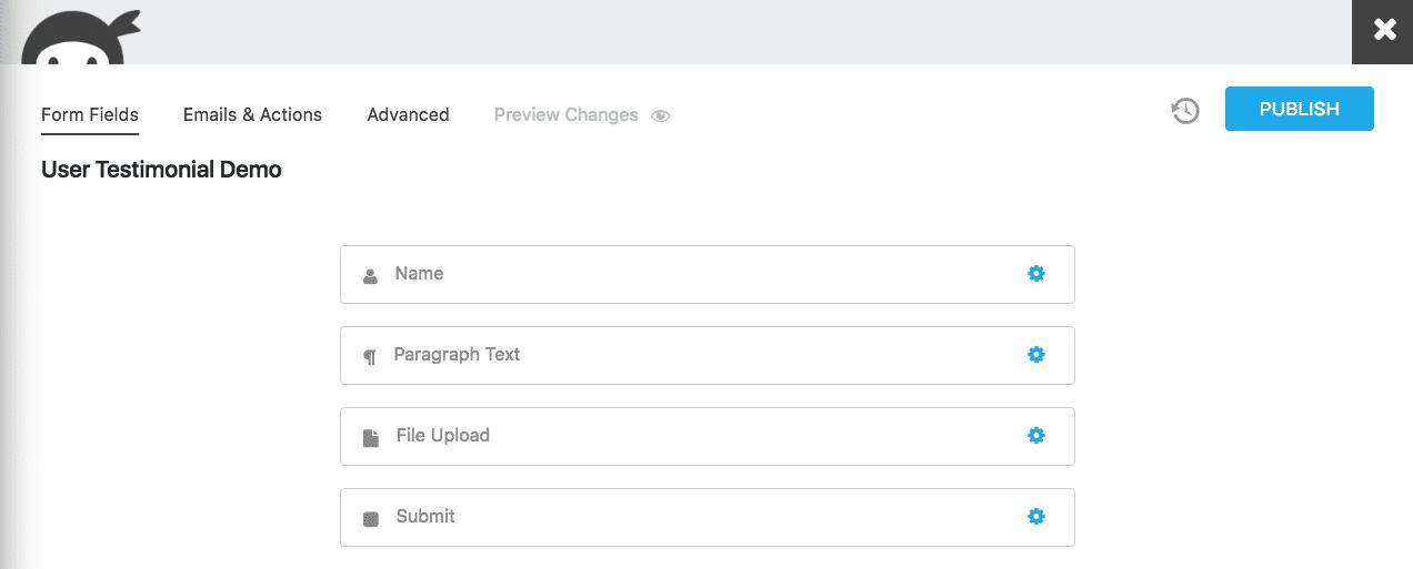 Démonstration de témoignage d'utilisateur