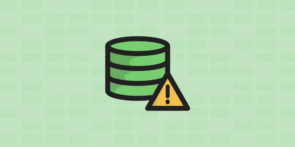 Comment corriger l'erreur lors de la connexion à la base de données
