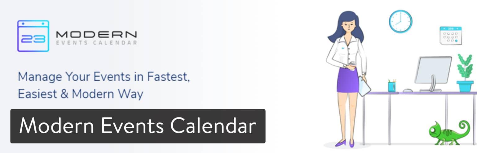 Plugin WordPress Modern Events Calendar