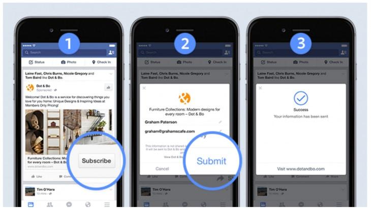 Publicités de prospects Facebook