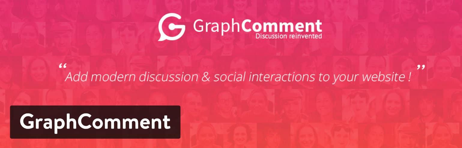 Plugin de commentaires WordPress GraphComment