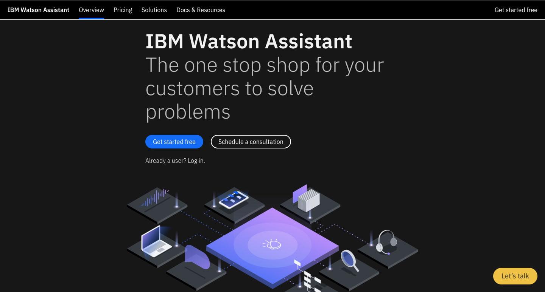 Assistant IBM Watson