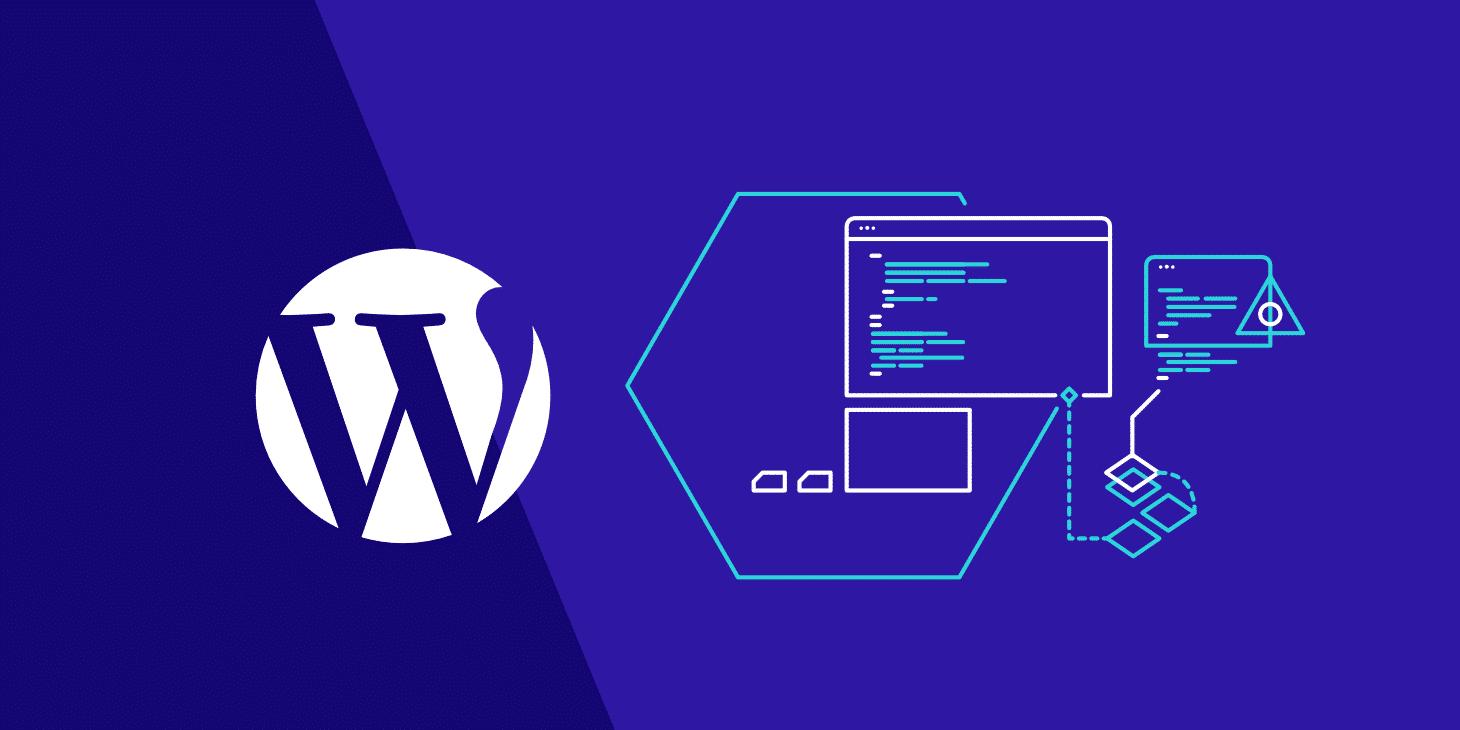 Tableau de bord admin WordPress