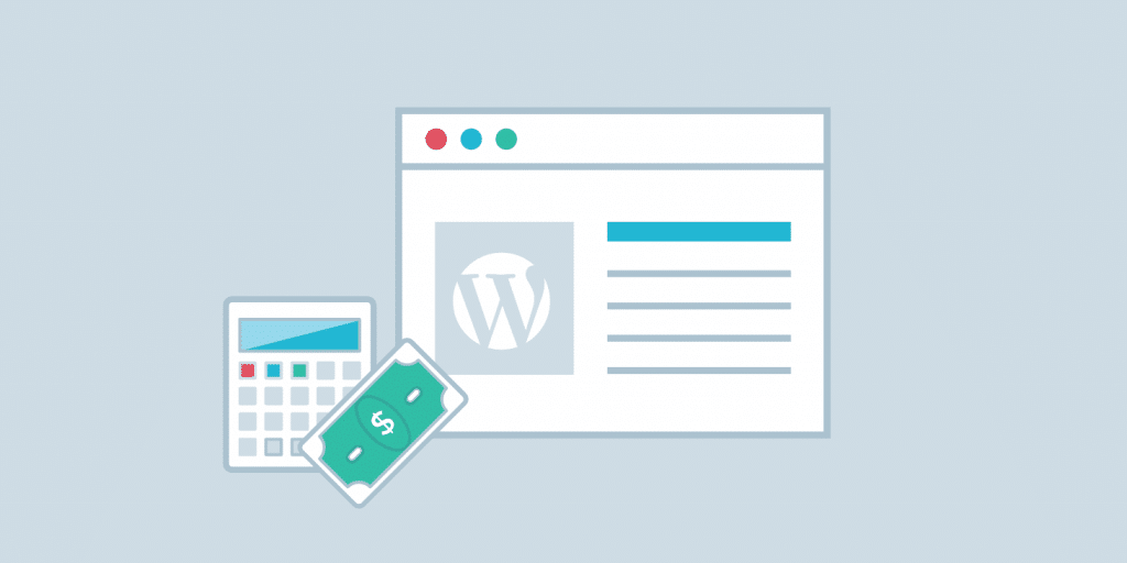 Coût d'un site Web WordPress