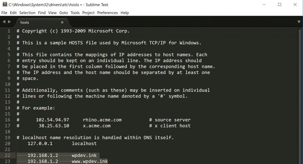 Modifier votre fichier hosts sous Windows