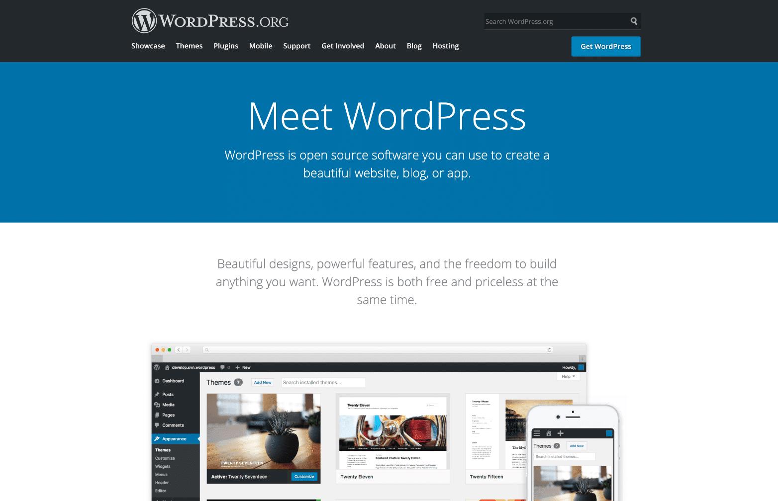 Le pouvoir de WordPress