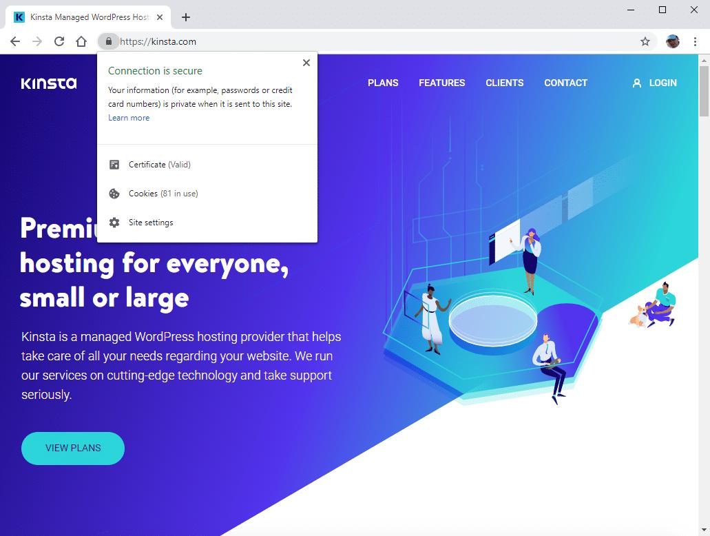Connexion sécurisée