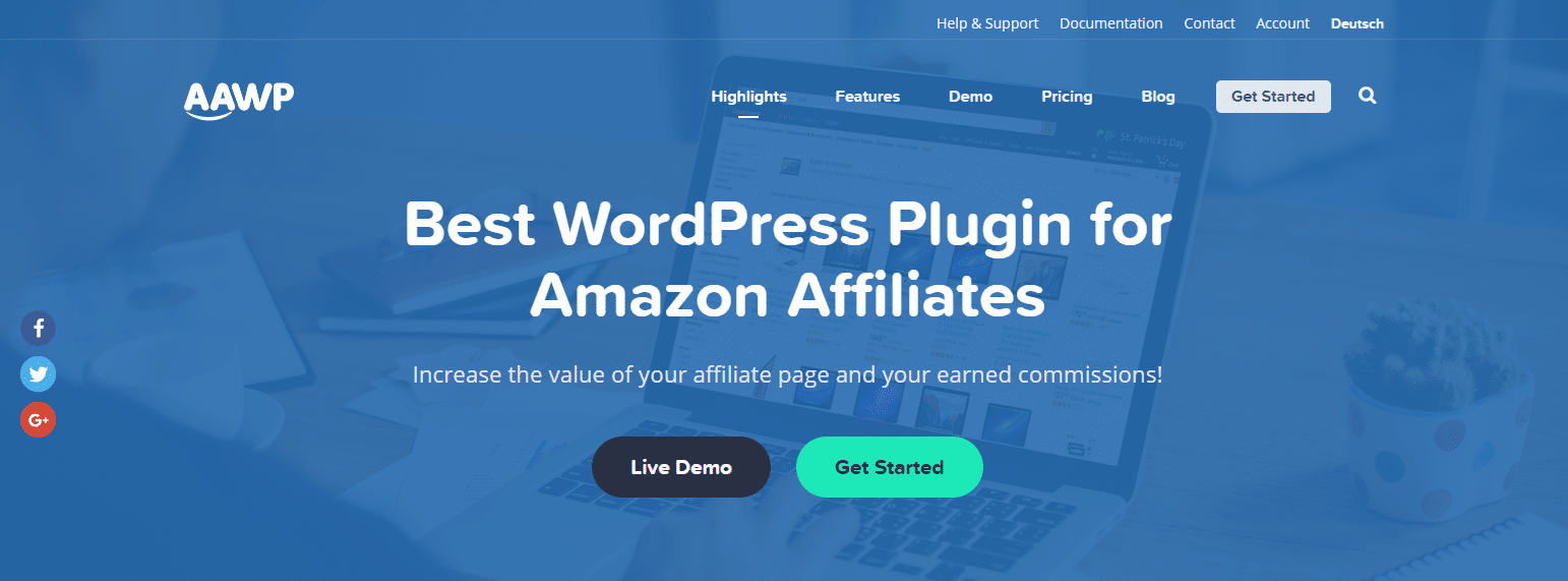 Extension WordPress Amazon Affiliate