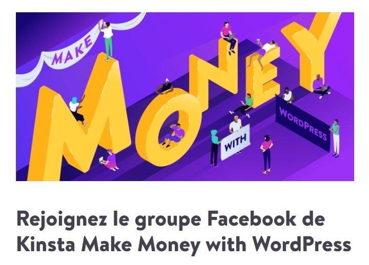 Groupe Facebook Make Money With WordPress