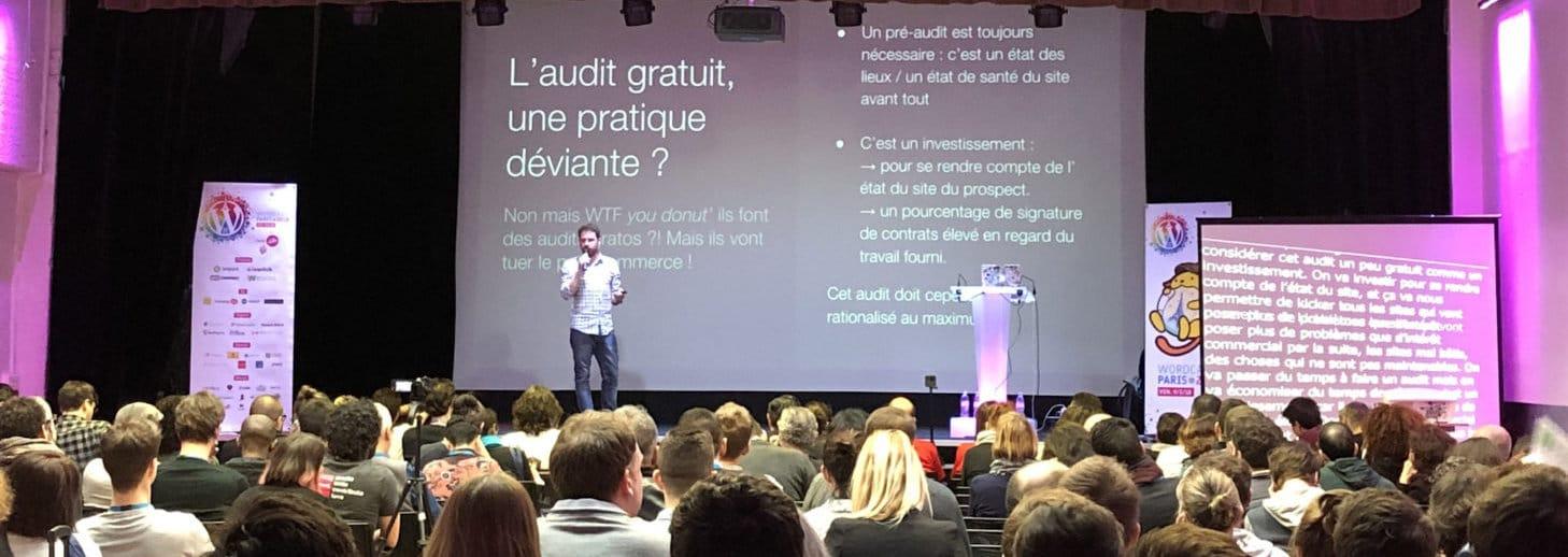 Jean-Baptiste Audras en conférence
