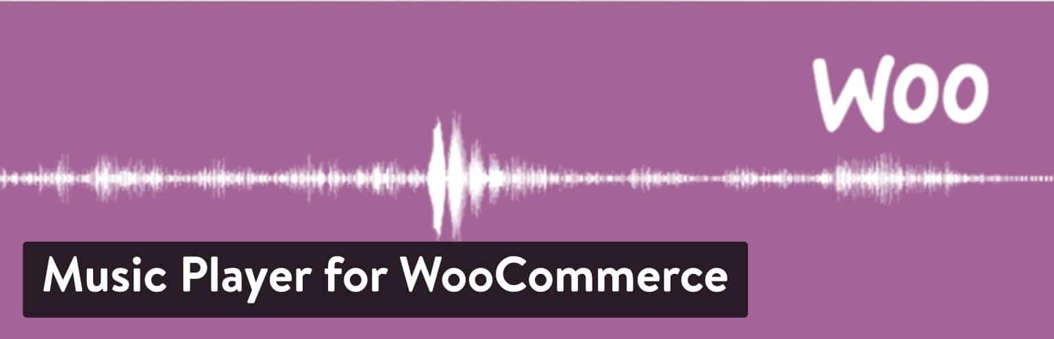 Lecteur de musique pour le plugin WooCommerce
