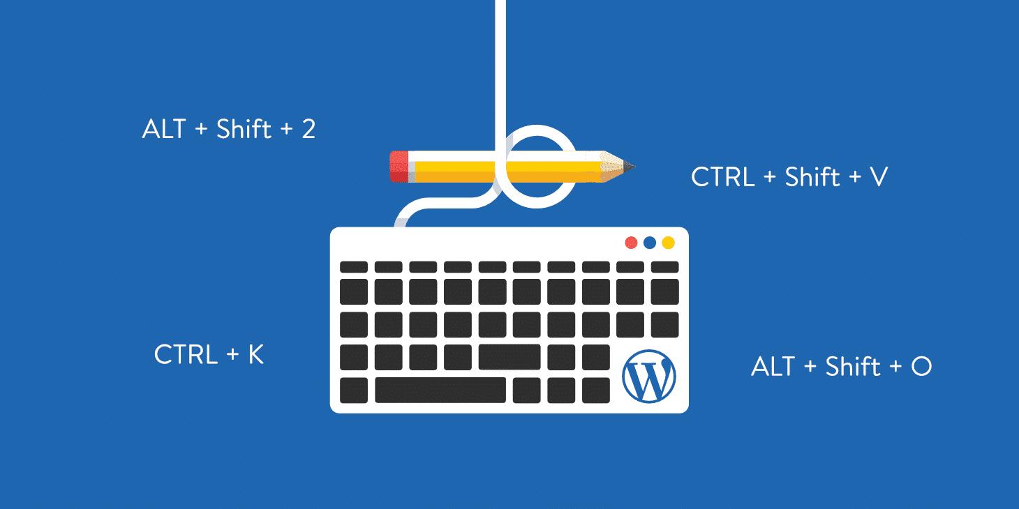 Plus de 65 raccourcis clavier WordPress pour l'écriture, Gutenberg et plus