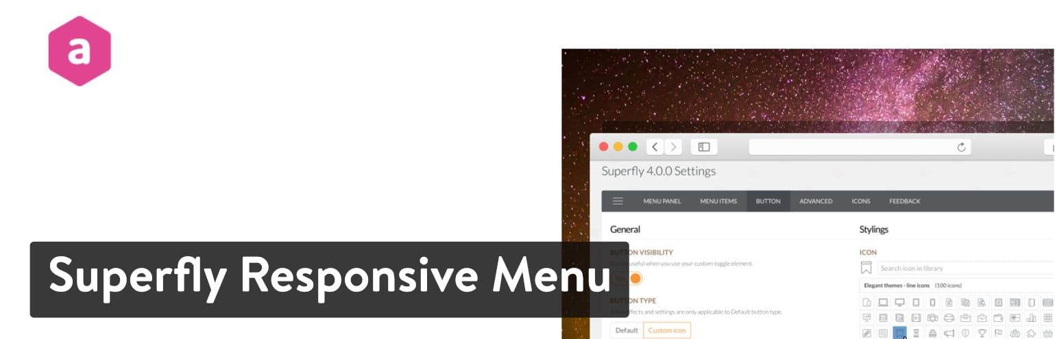 Extension Superfly Responsive Menu