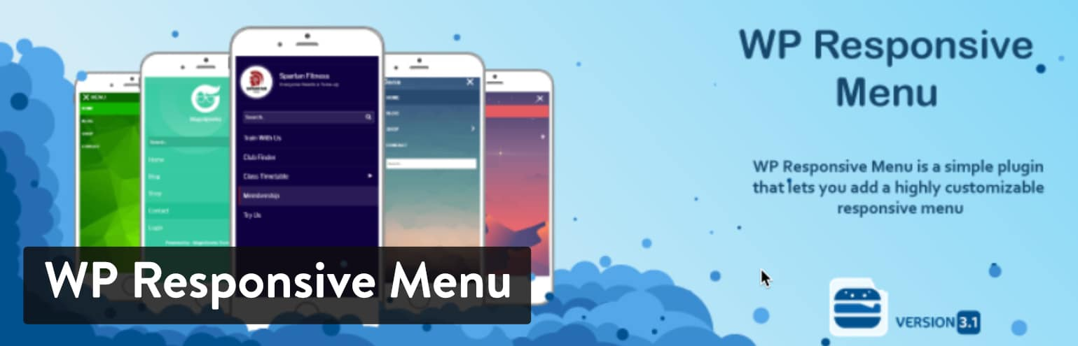 Extension WP Responsive Menu