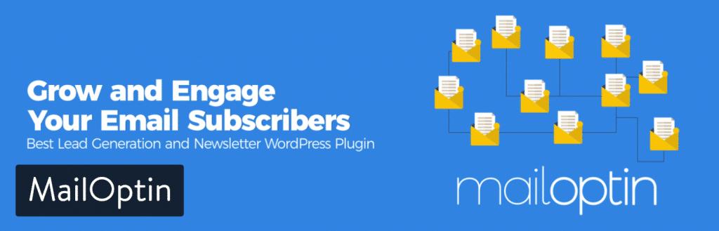 Extension WordPress MailOptin