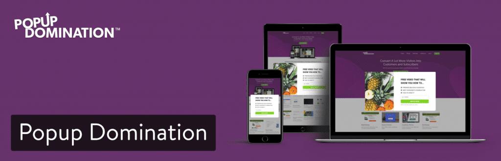 Extension WordPress Popup Domination