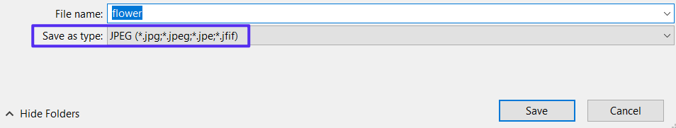 Extensions de fichiers sous Windows