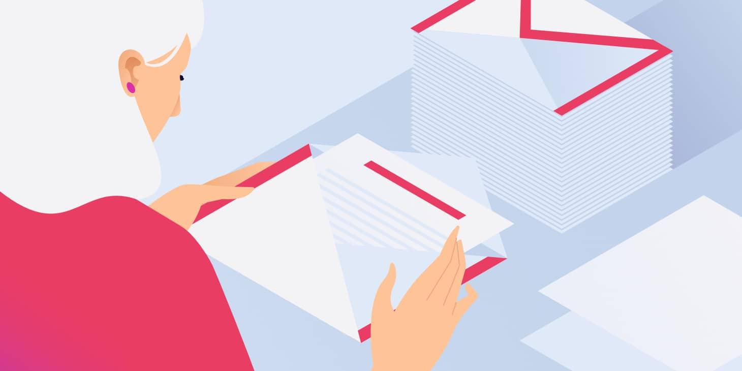 Tâches du gestionnaire de délivrabilité d'e-mail