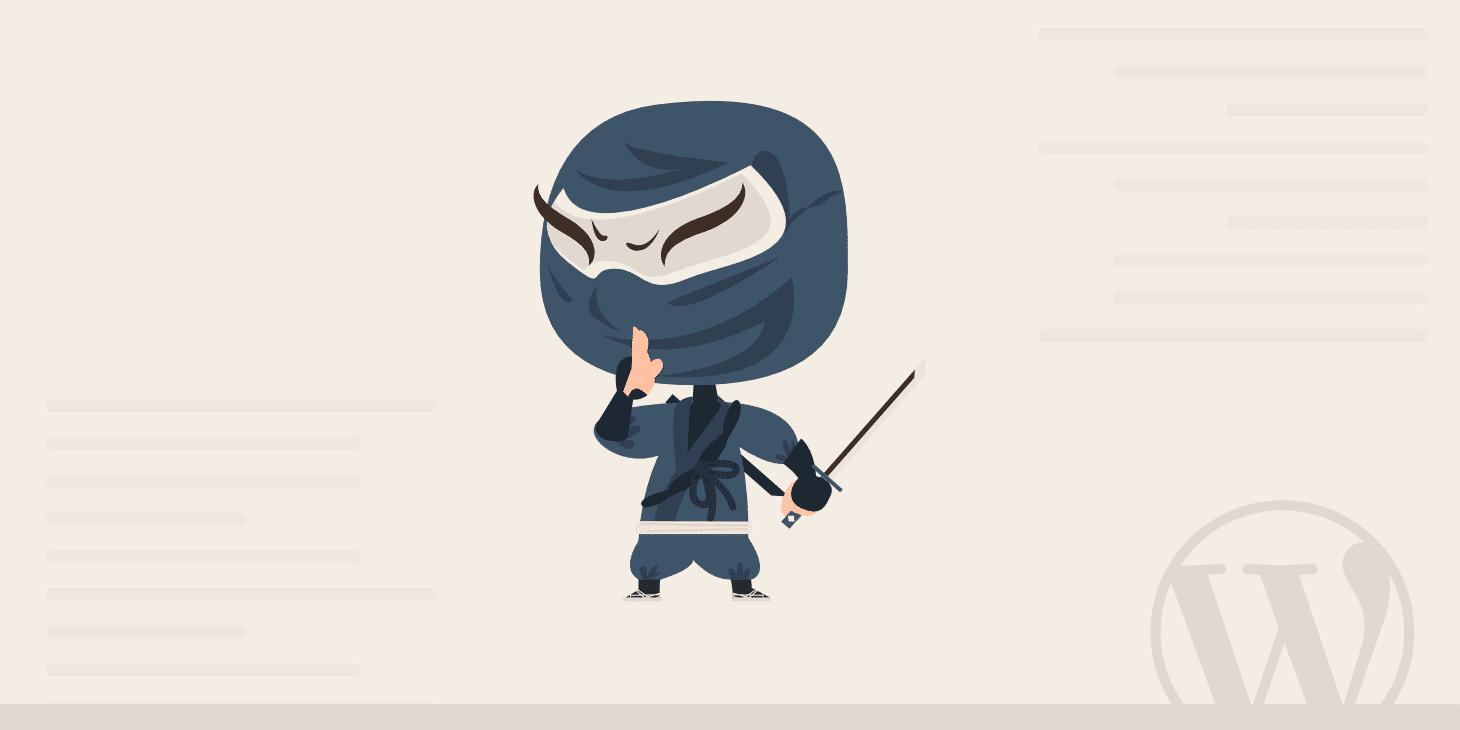 Comment faire pour être un ninja du marketing de contenu en solo avec WordPress
