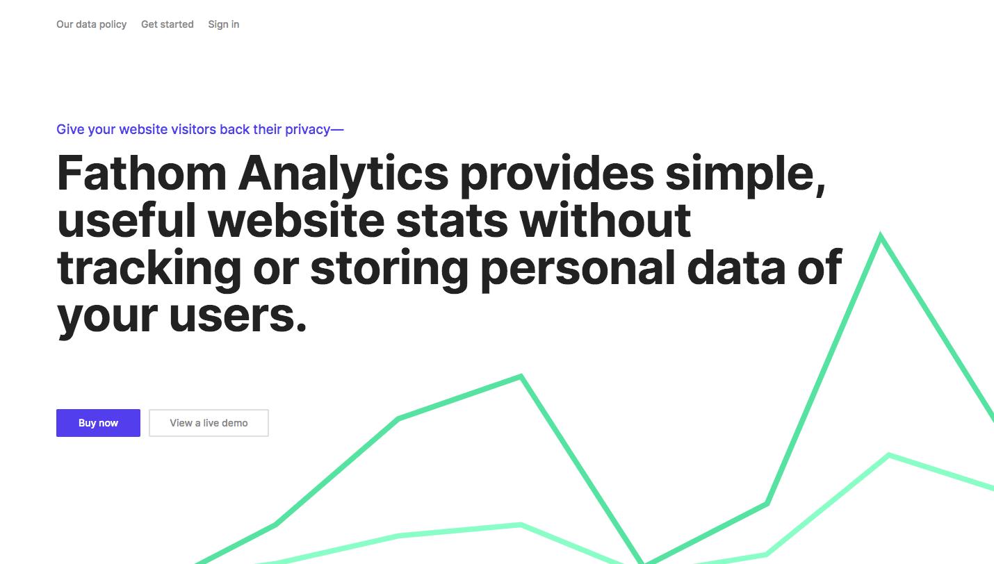 Google Analytics alternatives: Fathom