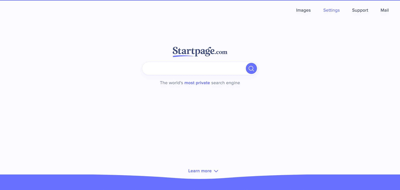 Moteur de recherche Strartpage