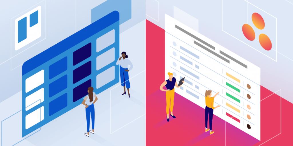 Trello vs Asana - Où gérer vos projets en 2019 ?