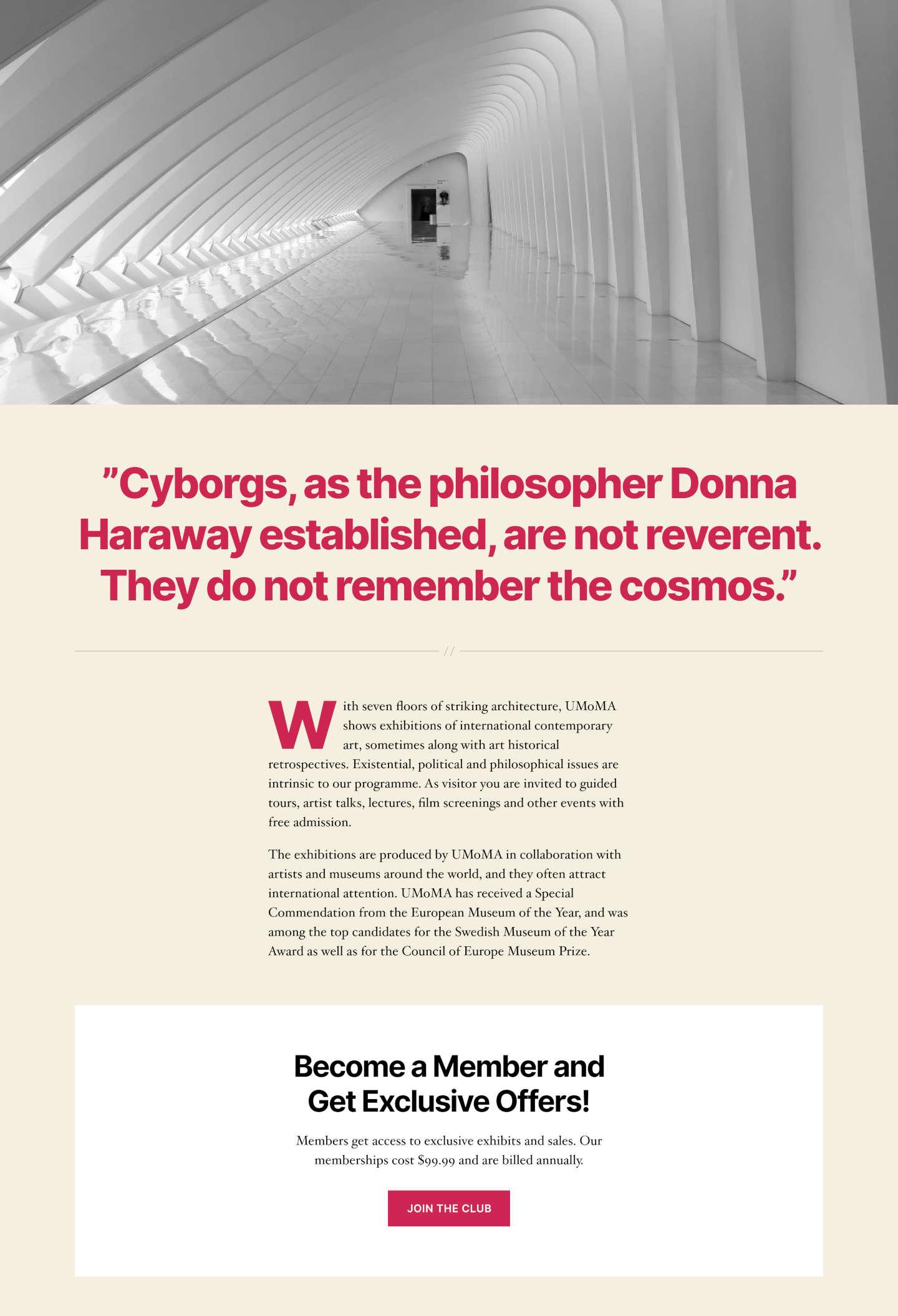 Typographie Twenty Twenty : impact et lisibilité