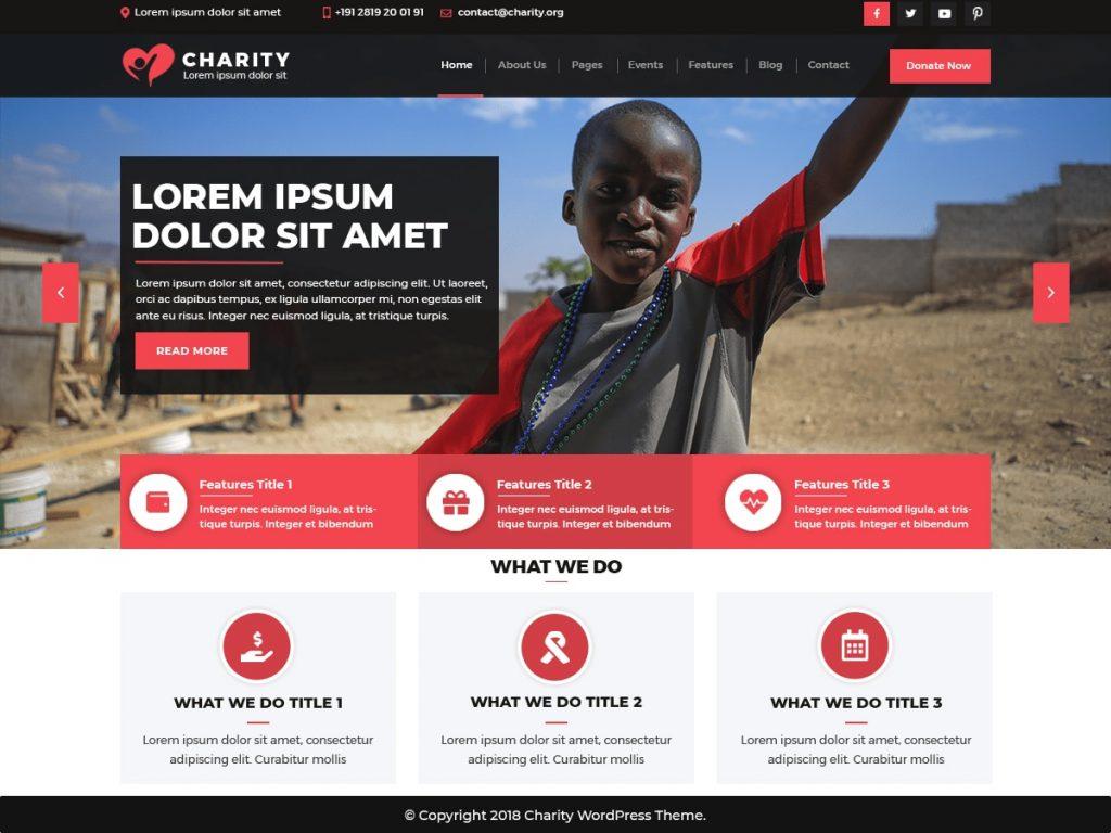 Thème VW Charity NGO