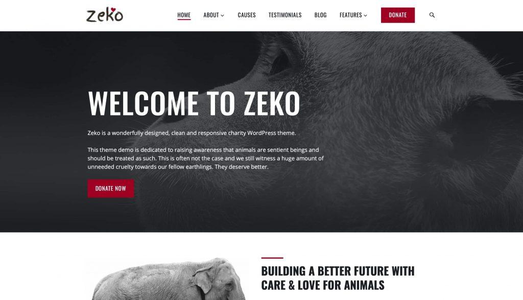 Thème Zeko