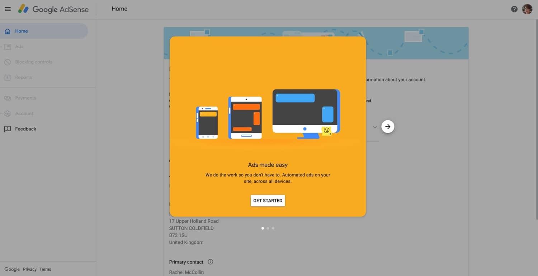 Assistant Google AdSense