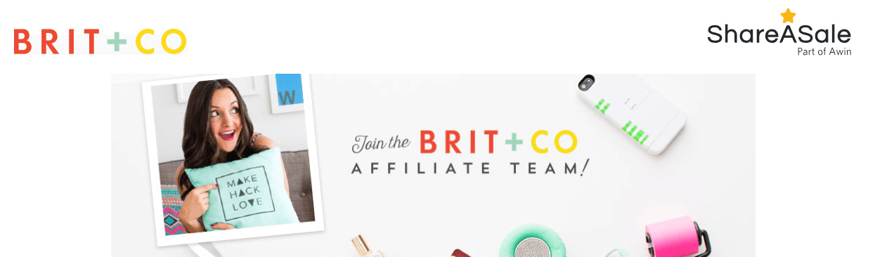 Brit + Co utilise ShareASale
