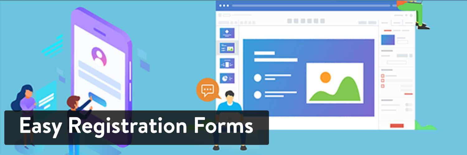 Extension WordPress Easy Registration Forms