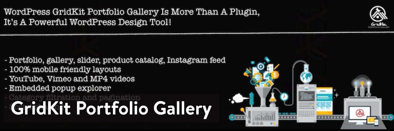 Extension GridKit Portfolio Galerie