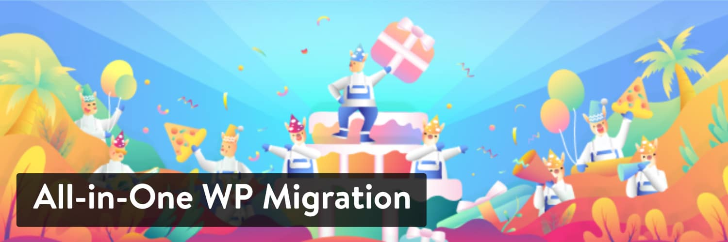 Extension WordPress All-in-One WP Migration