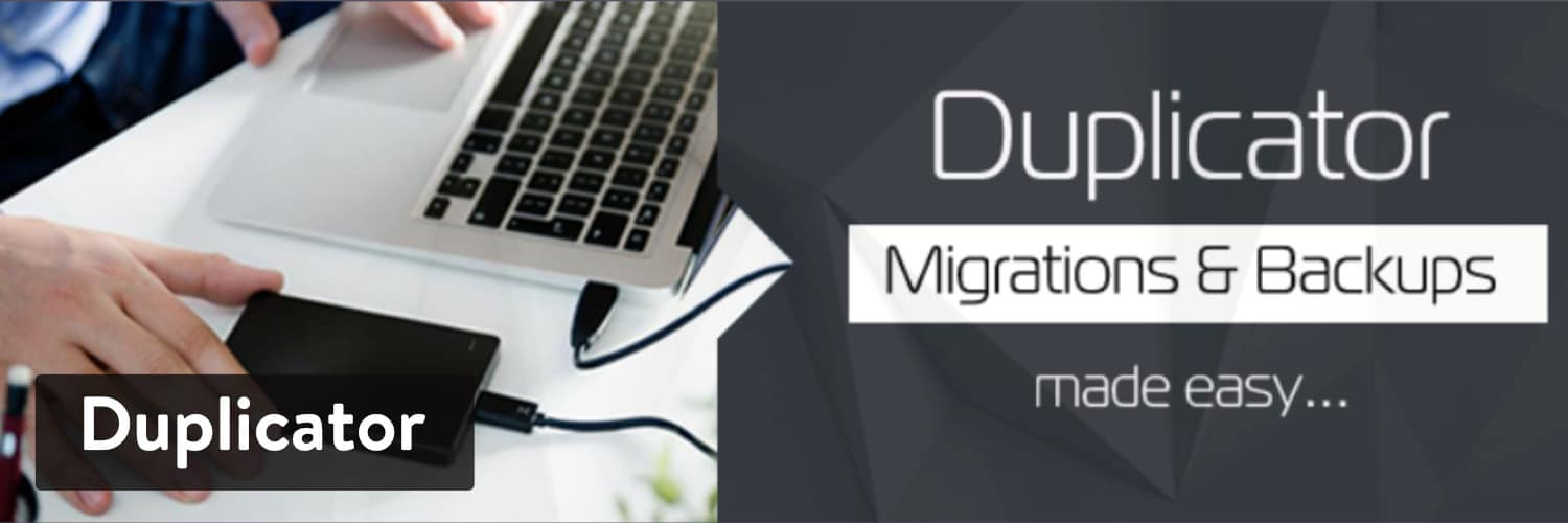 Extension WordPress Duplicator