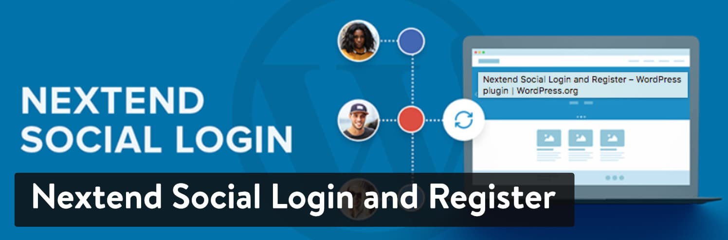 Extension WordPress Nextend Social Login and Register
