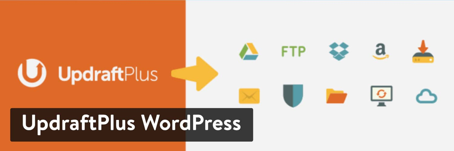 Extension WordPress UpdraftPlus
