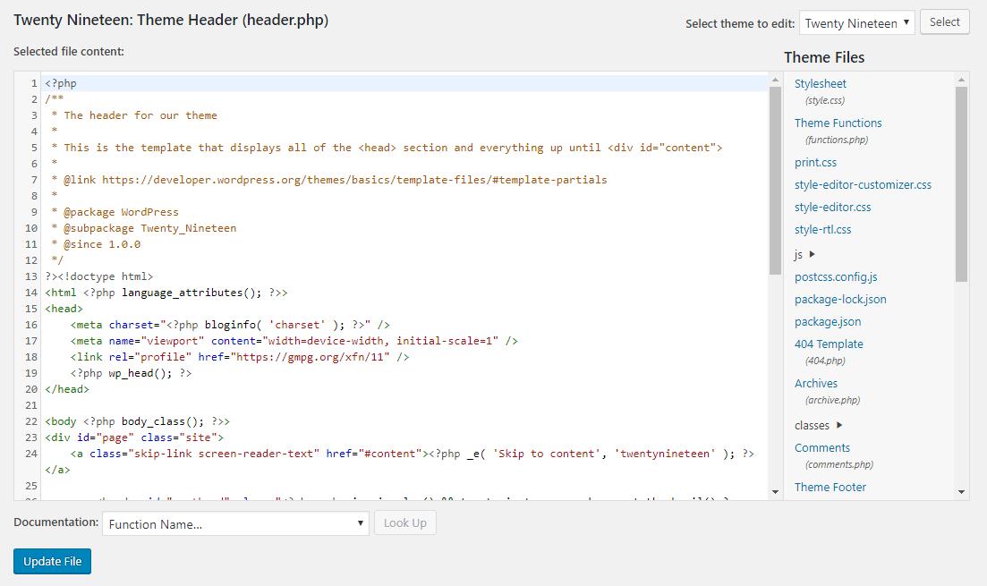 Ajout d'une divulgation d'affiliation via un code à WordPress