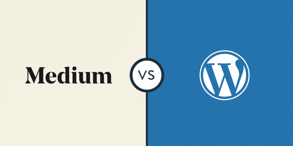Medium contre WordPress