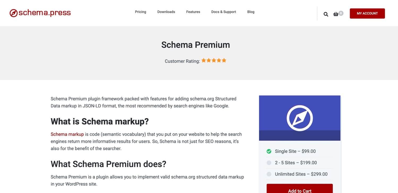 Extension premium Schema