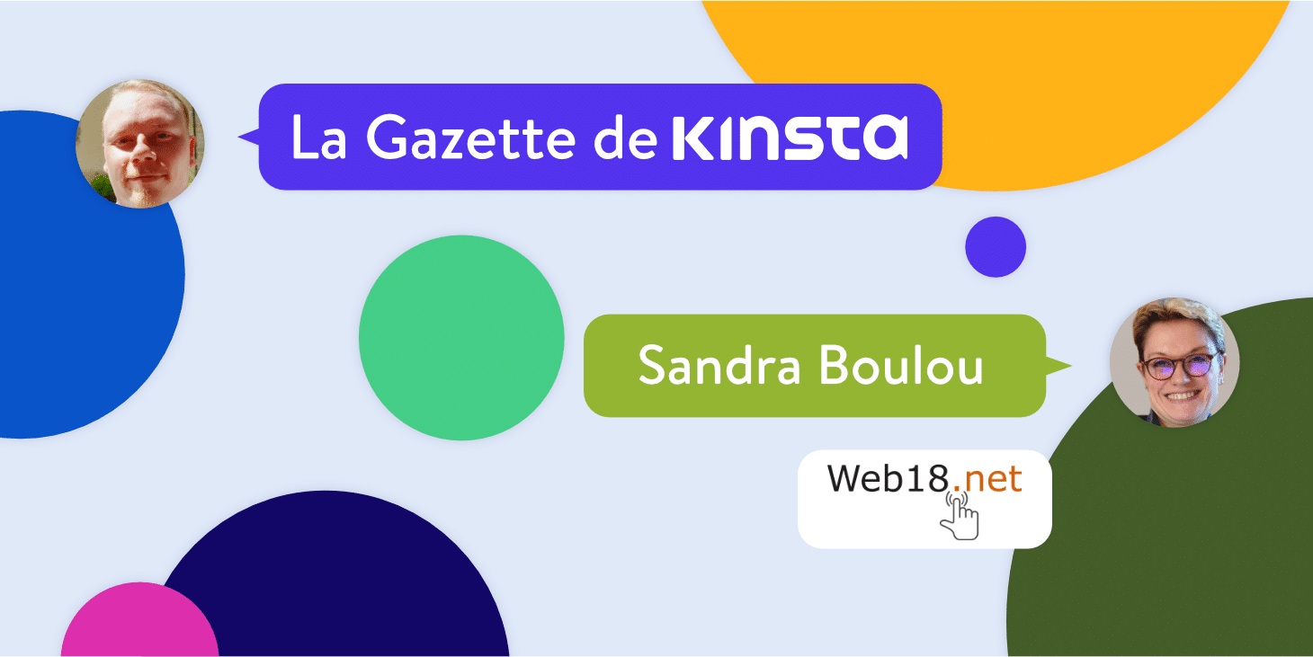 Interview Kinsta Sandra Boulou