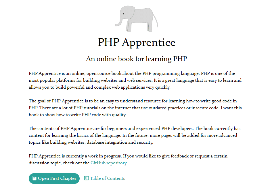 php apprentice